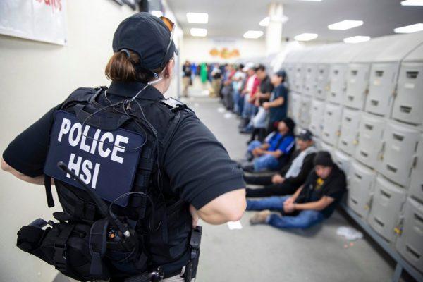 Redadas de ICE contra sindicatos