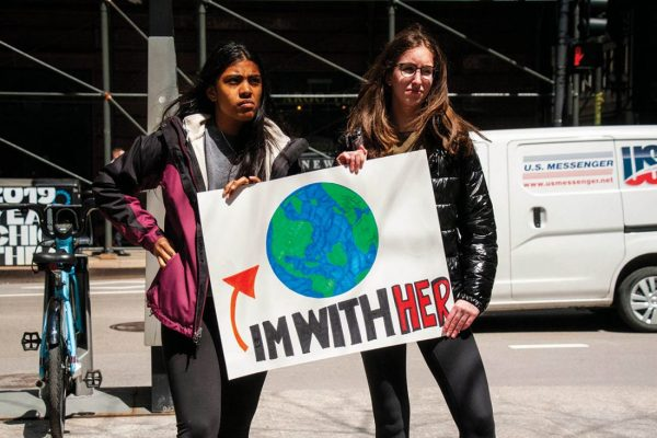 Young climate combatants call for racial, global justice